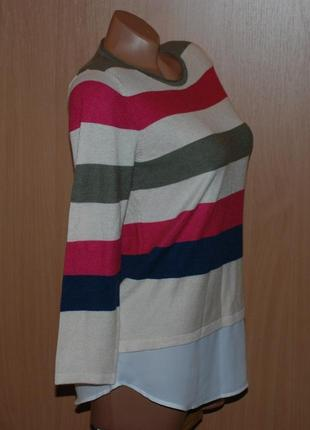 Кофточка бренда tu/ с вставкой имитацией рубашки/2 фото