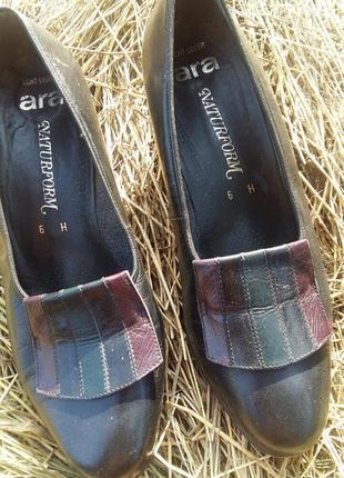 Туфли винтажные кожа винтаж2 фото