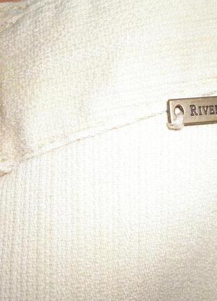 Бежевый джинс, стрейч, river island, размер 384 фото