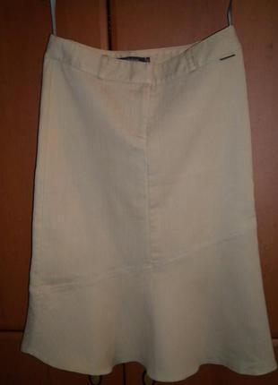 Бежевый джинс, стрейч, river island, размер 381 фото
