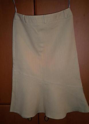 Бежевый джинс, стрейч, river island, размер 382 фото