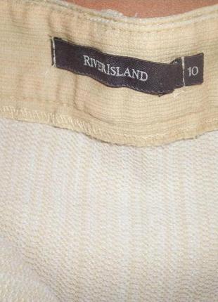 Бежевый джинс, стрейч, river island, размер 383 фото
