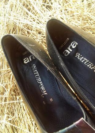 Туфли винтажные кожа винтаж5 фото