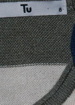 Кофточка бренда tu/ с вставкой имитацией рубашки/4 фото