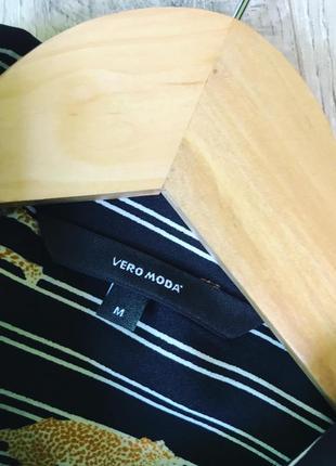 Стильна сорочка в принт vero moda.3 фото