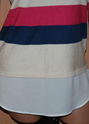 Кофточка бренда tu/ с вставкой имитацией рубашки/10 фото