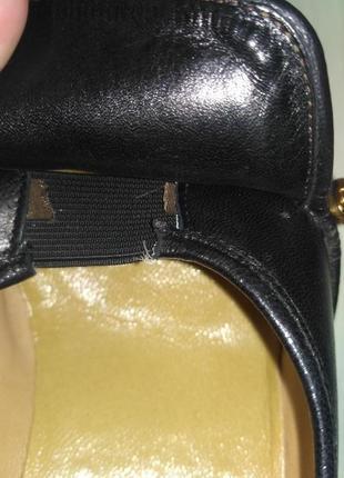 Spiess. натуральная кожа! лоферы на устойчивом каблуке9 фото