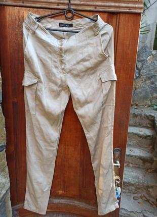 Marc cain брюки хлопок шовк віскоза1 фото