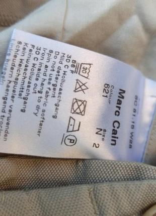 Marc cain брюки хлопок шовк віскоза4 фото