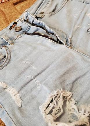 Шорты джинсовые3 фото