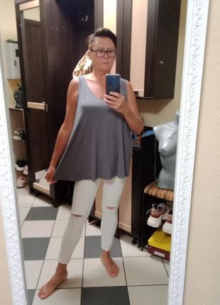 Женская блуза,майка,топ большого размера1 фото