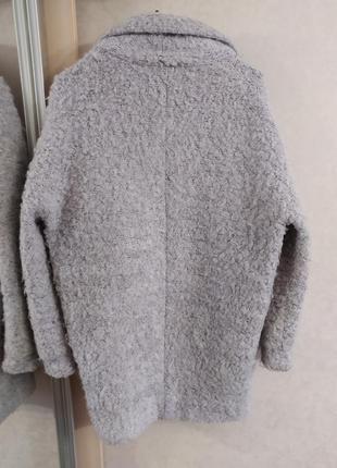 Topshop ворсистое пальто-бойфренд свободного кроя, оверсайз, р.10-389 фото