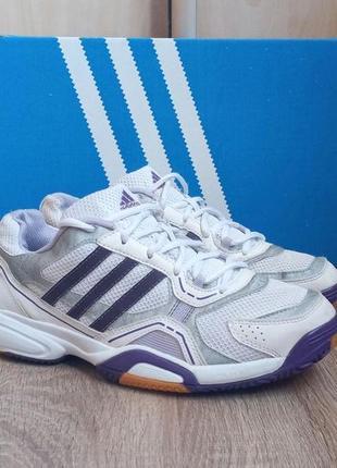 Женские кроссовки adidas opticourt 40.5 р осенние,беговые,игровые1 фото
