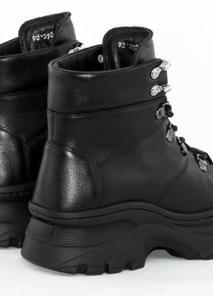 Ботинки зимние женские кожаные milana step5 фото