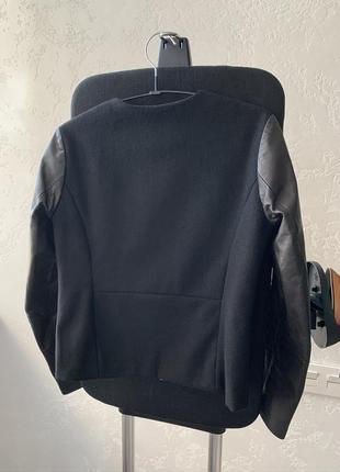 Premium куртка, пальто с натуральной кожи и шерсти!3 фото