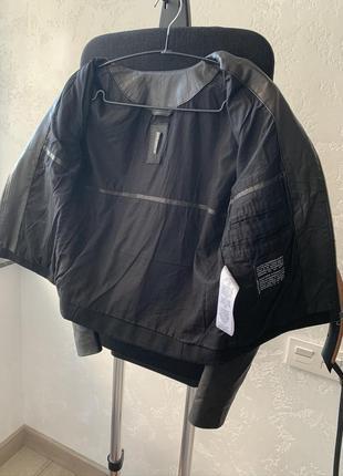 Premium куртка, пальто с натуральной кожи и шерсти!4 фото