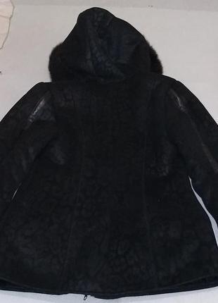 Пальто дублёнка на подростка2 фото