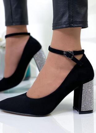 Шикарные туфли замшевые новинка7 фото