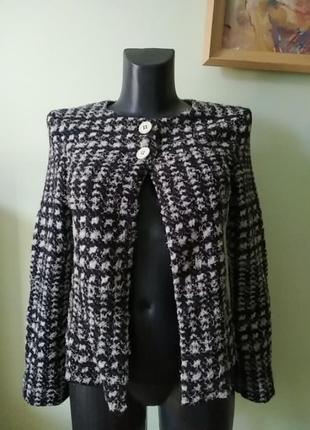 Стильная брендовая двойка(майка и пиджак) marc cain шерсть с шёлком3 фото