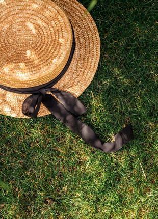 Соломенная шляпа1 фото