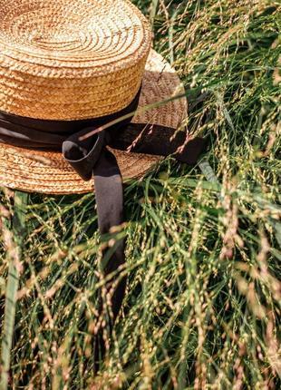 Соломенная шляпа2 фото