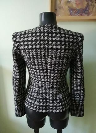 Стильная брендовая двойка(майка и пиджак) marc cain шерсть с шёлком4 фото