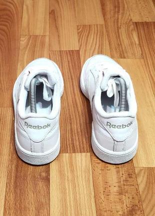 Кроссовки reebok club c 85 (24,5 см)9 фото