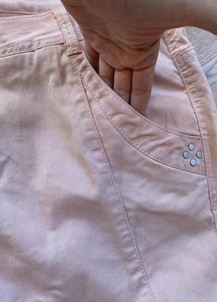 Пудрові джинси, м'які, батал3 фото