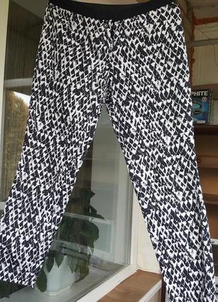 Котонові укорочені брюки