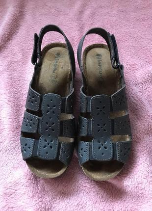 Кожаные сандалии босоножки4 фото