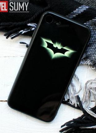 """Светящийся в темноте чехол """"бэтмен. batman"""" на iphone 7 81 фото"""