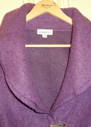 Легкий жакет из валяной шерсти habella2 фото