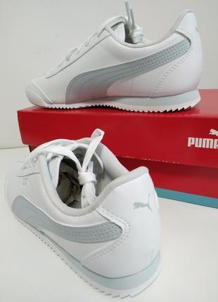 Белые женские кроссовки puma2 фото