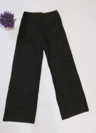 Широкие брюки палаццо h&m, британия, шерсть2 фото
