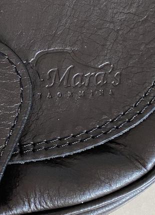 Сумка кожаная кроссбоди италия maras taormina2 фото