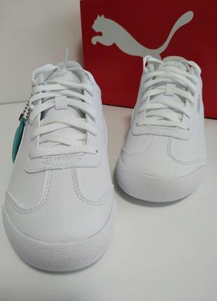 Белые женские кроссовки puma6 фото