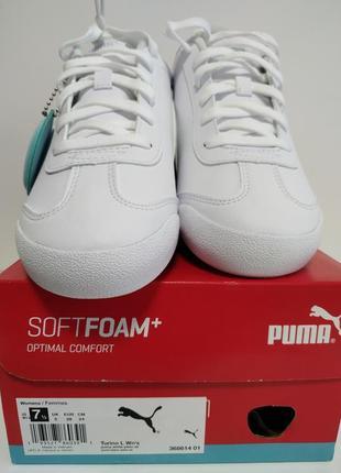 Белые женские кроссовки puma7 фото