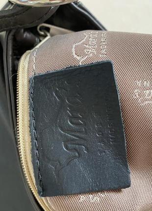 Сумка кожаная кроссбоди италия maras taormina7 фото