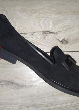 Мягкие балетки  женские батал туфли лоферы3 фото
