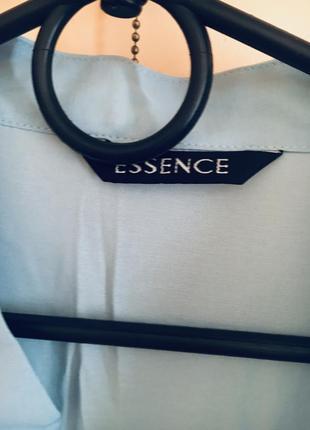 Батал большой размер голубая рубашка блуза блузка блузочка рубашка офис дресс код7 фото