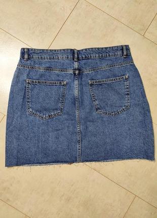 Стильная джинсовая юбка4 фото