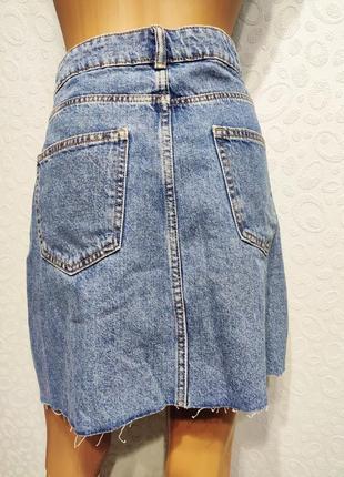 Стильная джинсовая юбка5 фото