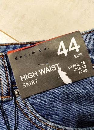 Стильная джинсовая юбка7 фото
