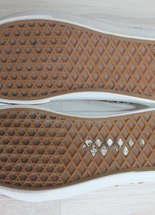 Оригинальные женские кроссовки кеды vans old skool деним + замша5 фото