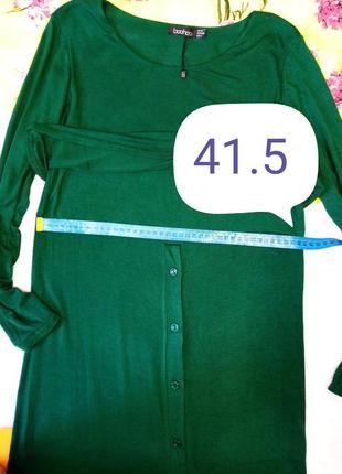 Платье женское из вискозы приталенного силуэта изумрудный цвет размер 40-444 фото