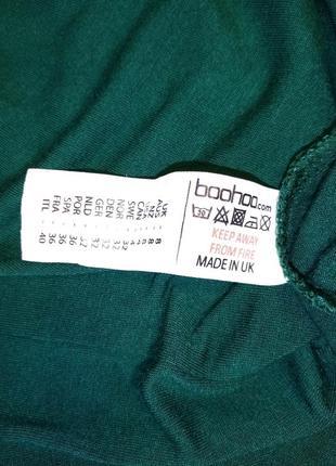 Платье женское из вискозы приталенного силуэта изумрудный цвет размер 40-446 фото