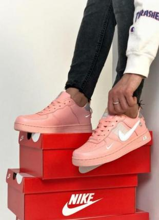 Nike air force pink 💖 36-403 фото