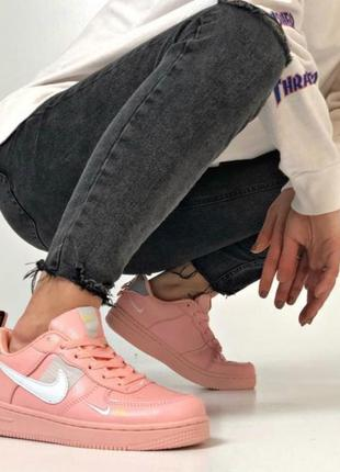 Nike air force pink 💖 36-401 фото