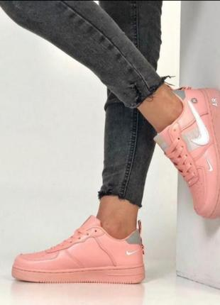 Nike air force pink 💖 36-404 фото