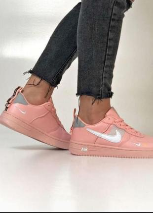 Nike air force pink 💖 36-405 фото